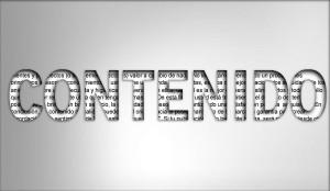 El contenido en un sitio web